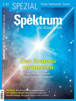Aktuelles Cover Spektrum Spezial Physik - Mathematik - Technik