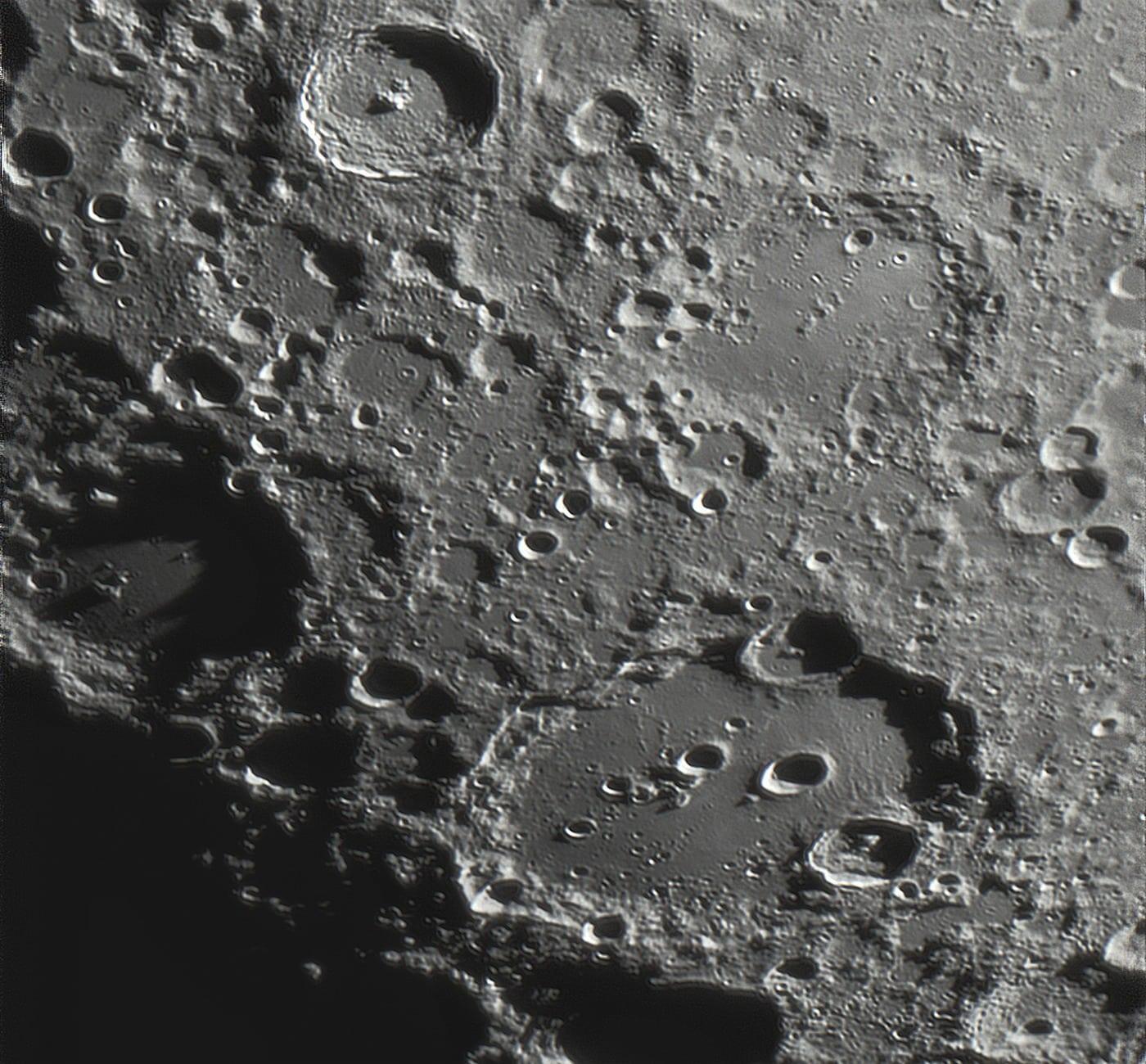 Clavius und Umgebung