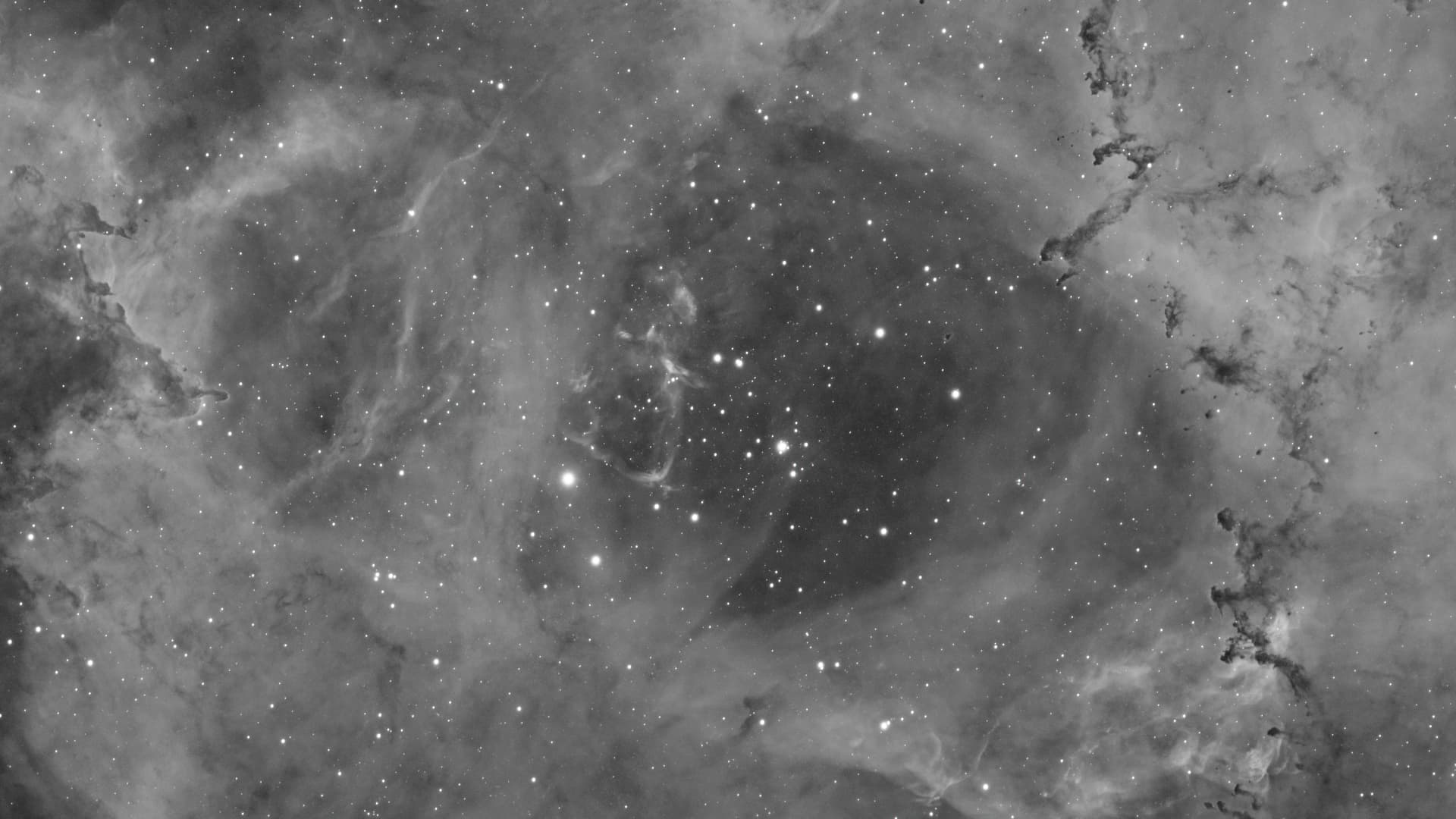 NGC 2244 im H-Alpha-Licht