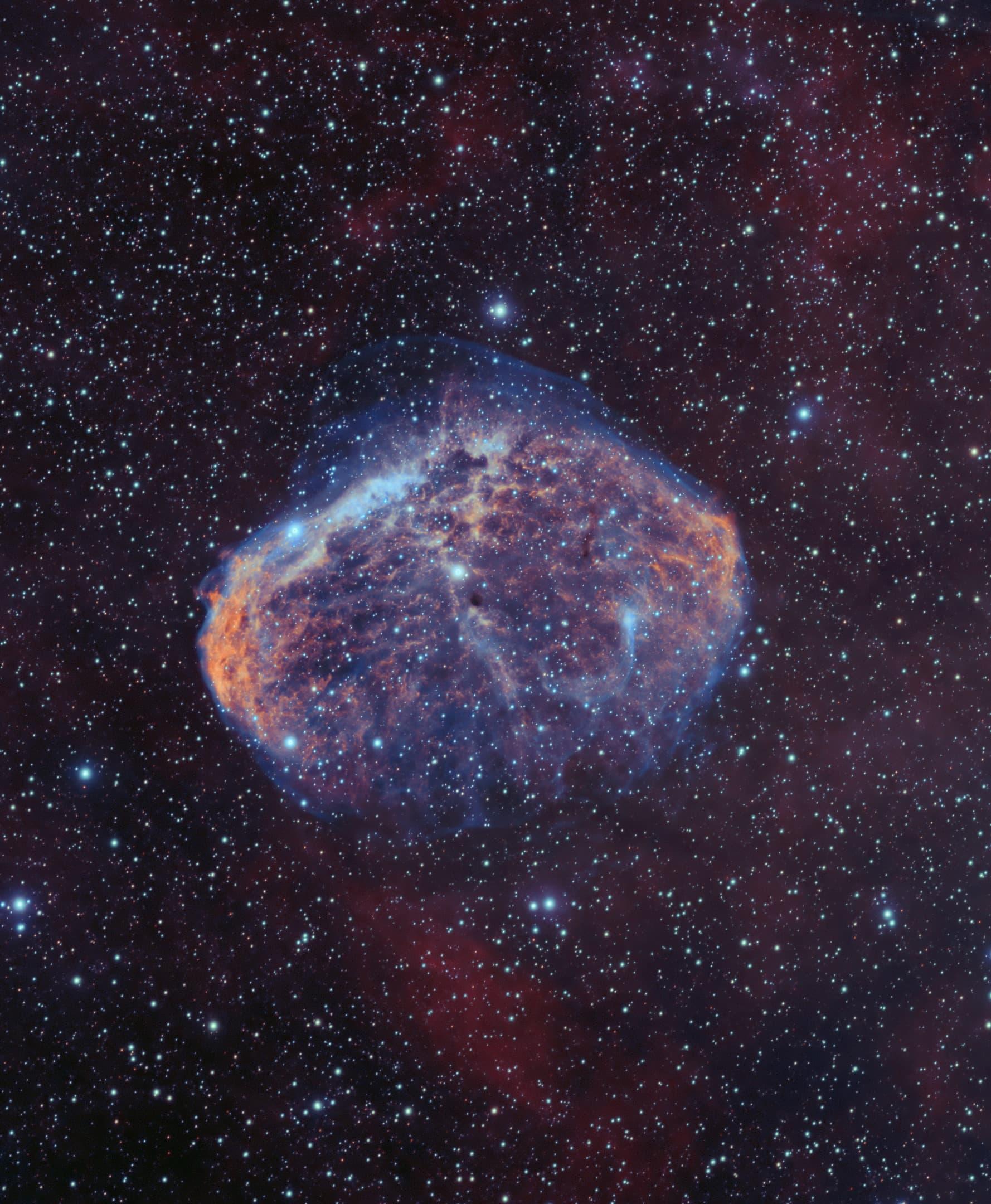 NGC 6888 - Bicolor