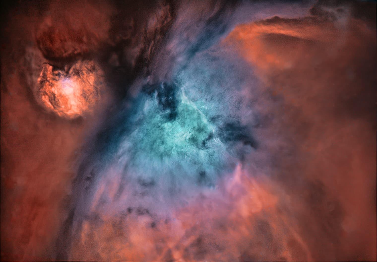 Orionnebel Bicolor