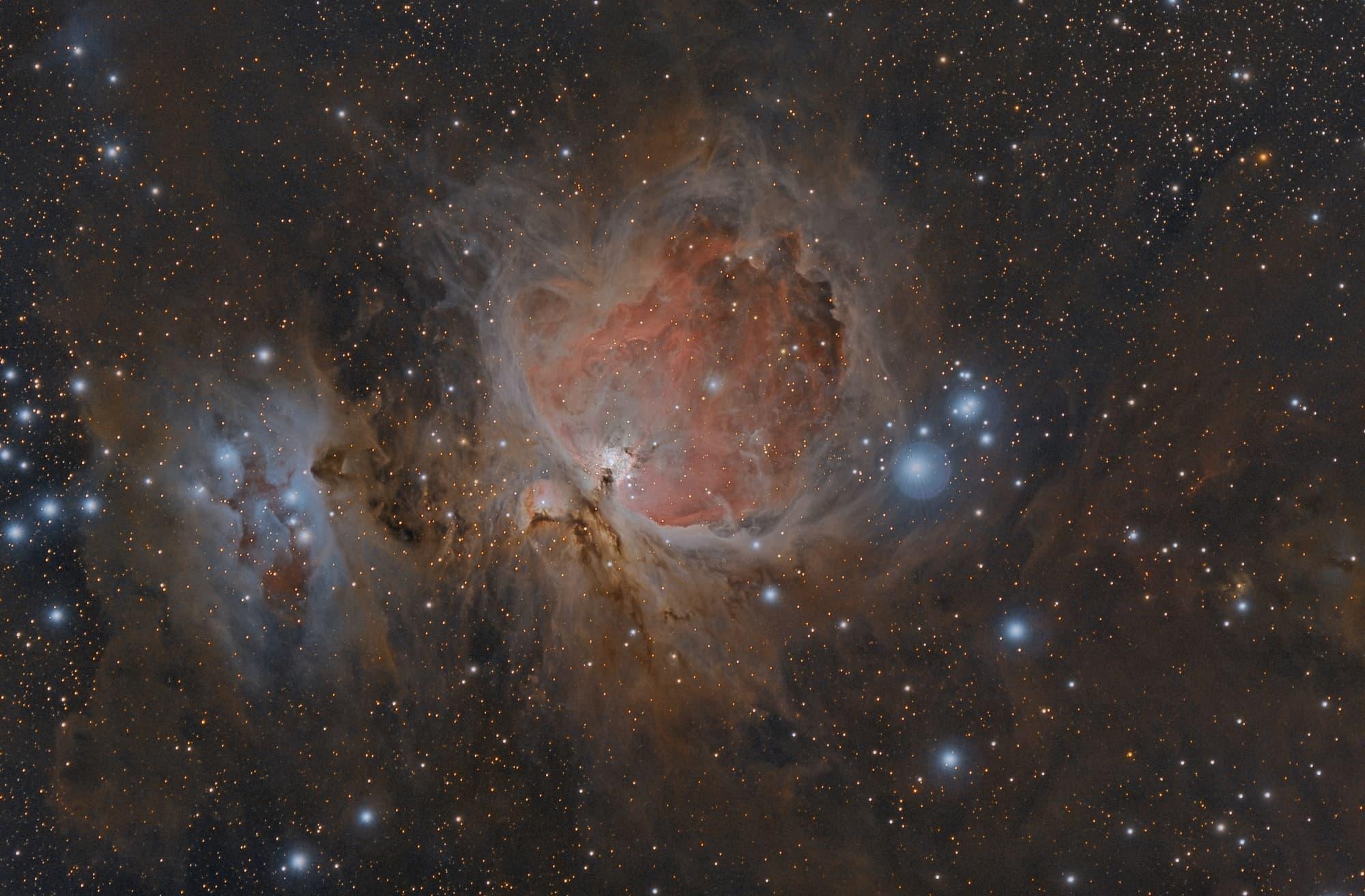 Messier 42 – Der große Orion Nebel