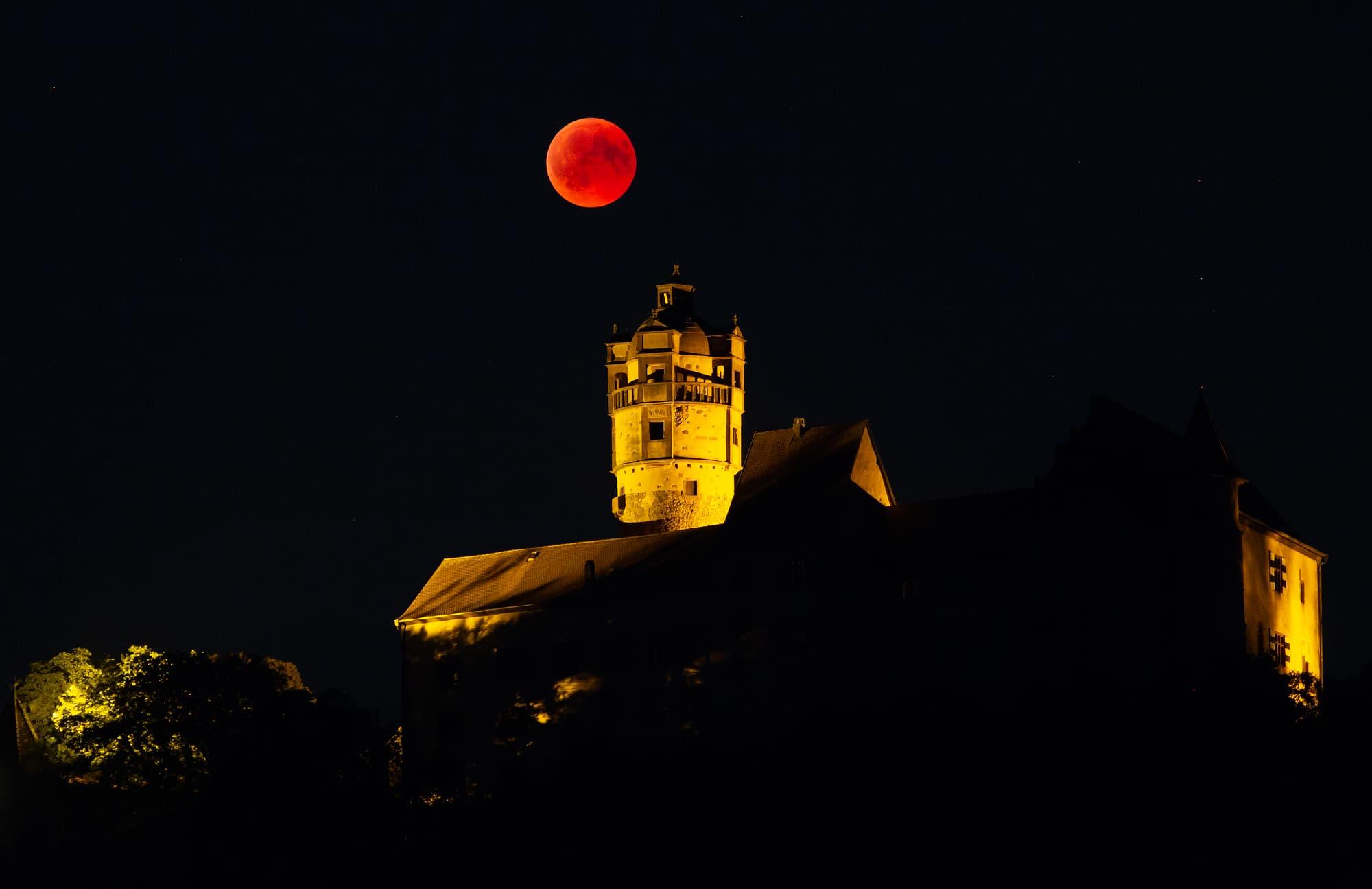Mondfinsternis Hessen Heute