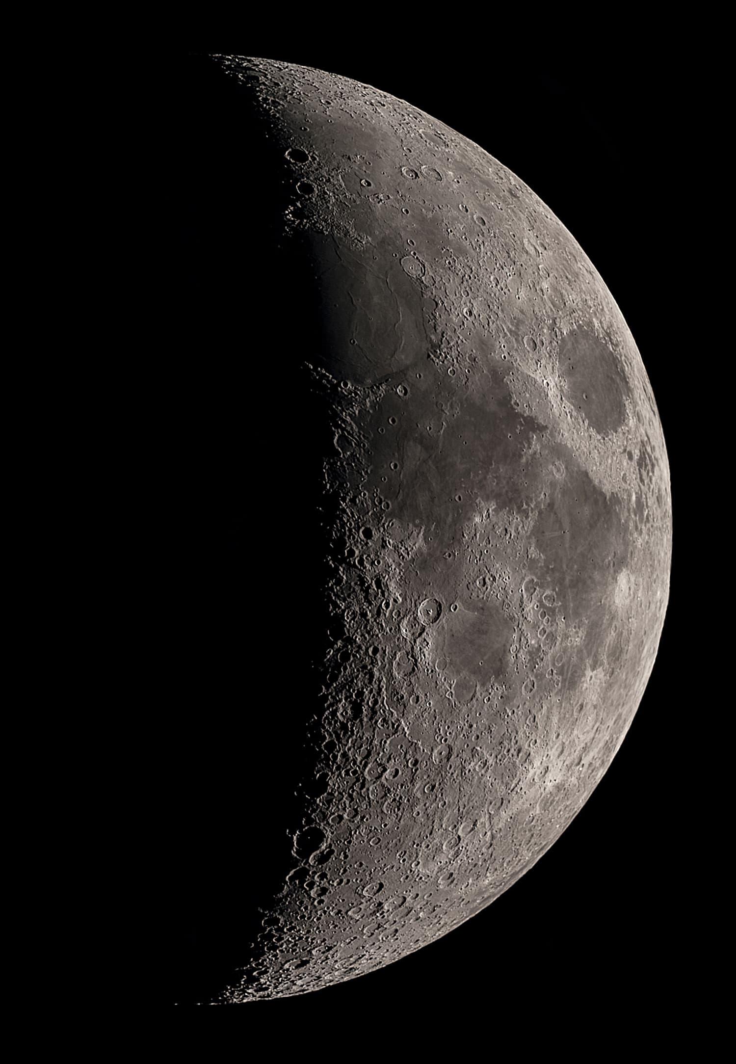 Mond vom 10. Mai 2019