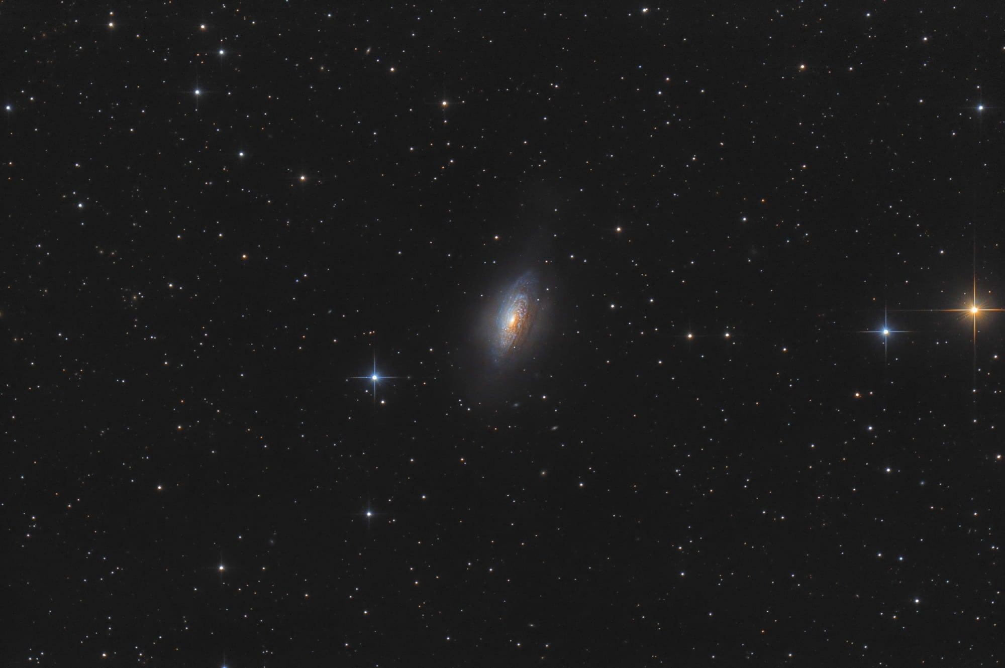 NGC 3521 - Galaxie im Löwen