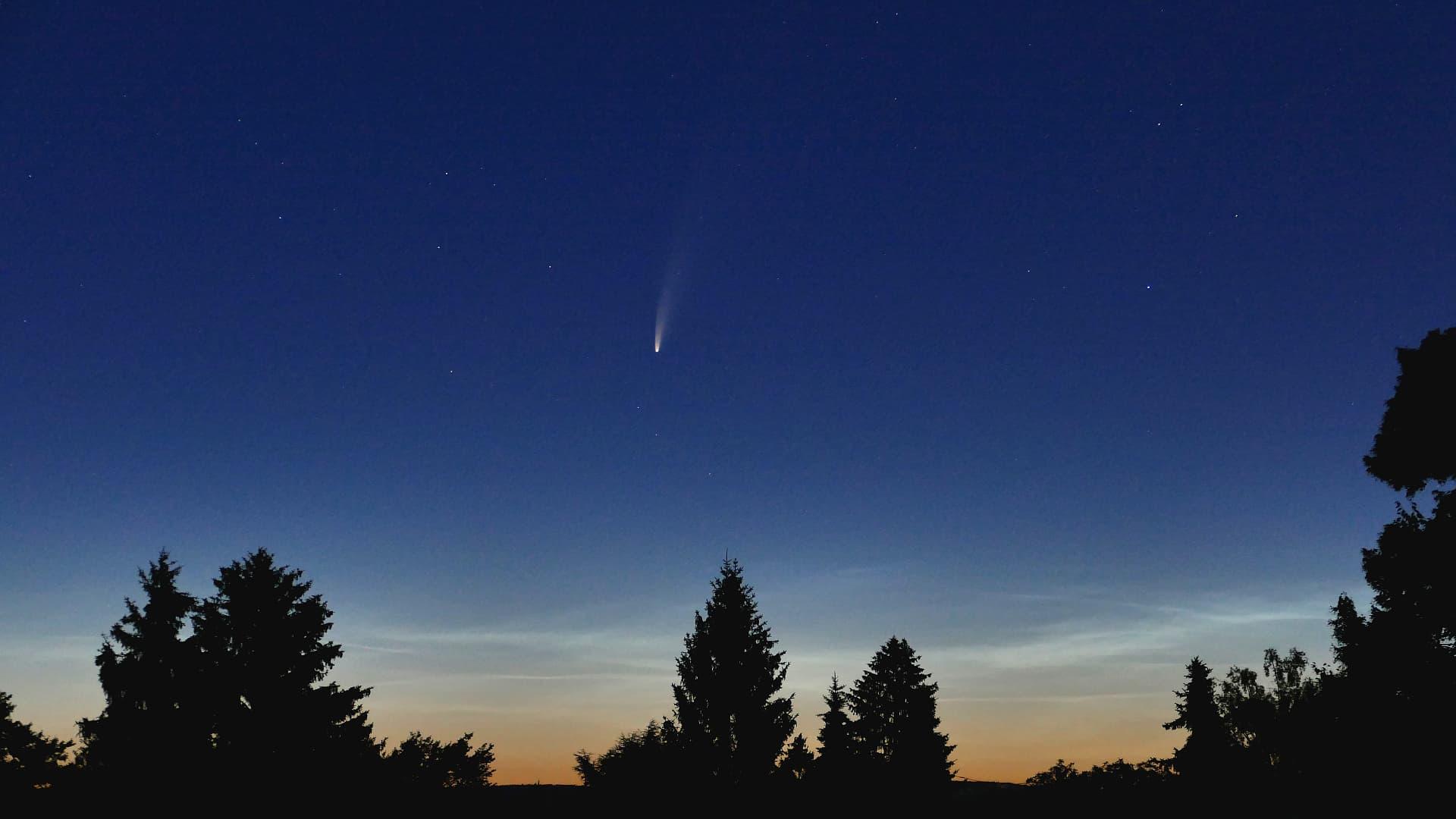 Komet Neowise am 10. Juli 2020