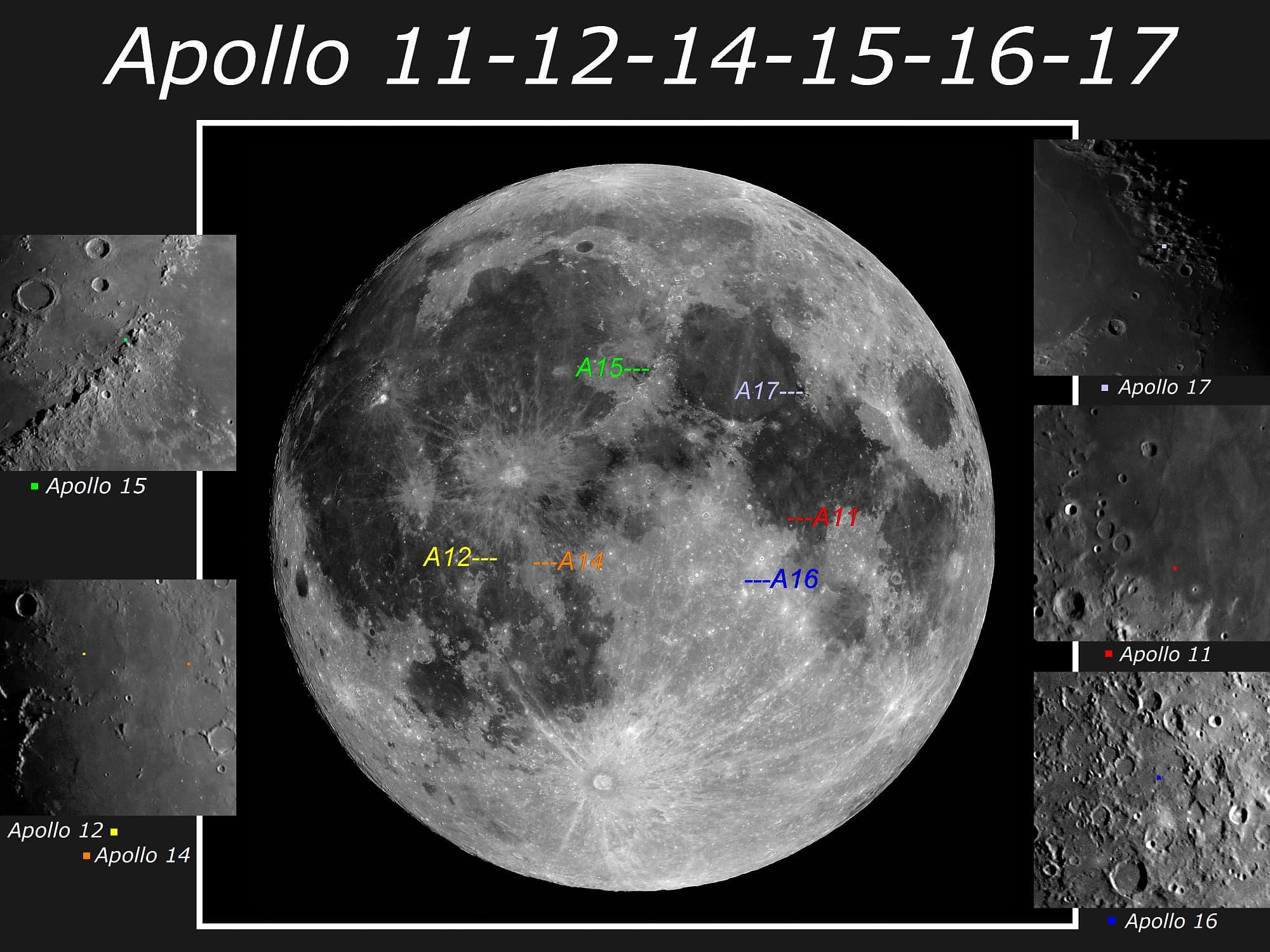 50 Jahre Menschen auf dem Mond