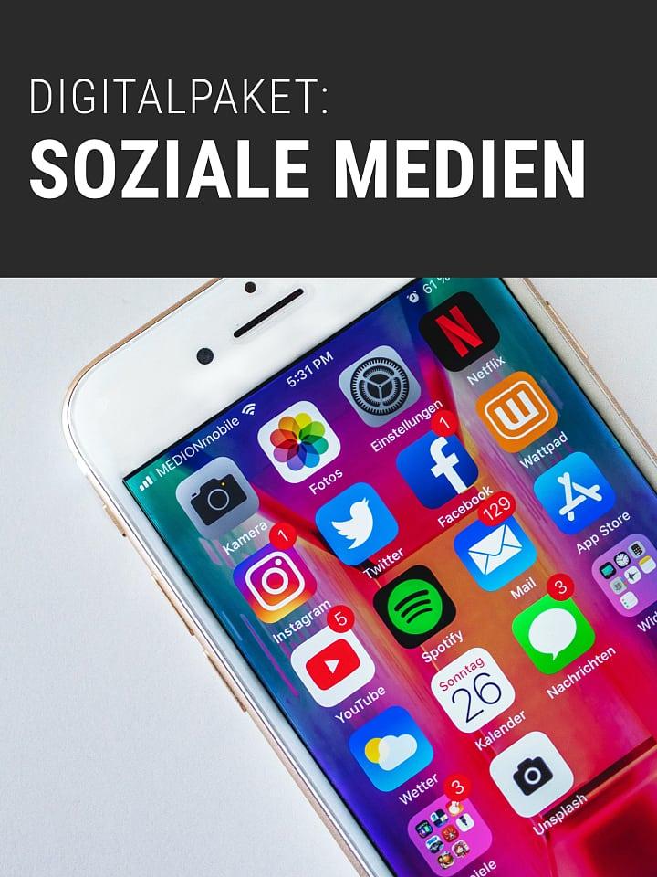 بسته دیجیتال Heftcover Spektrum.de: رسانه های اجتماعی