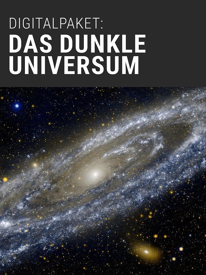 Portada del manual de Spectrum del paquete de ciencia digital: El universo oscuro