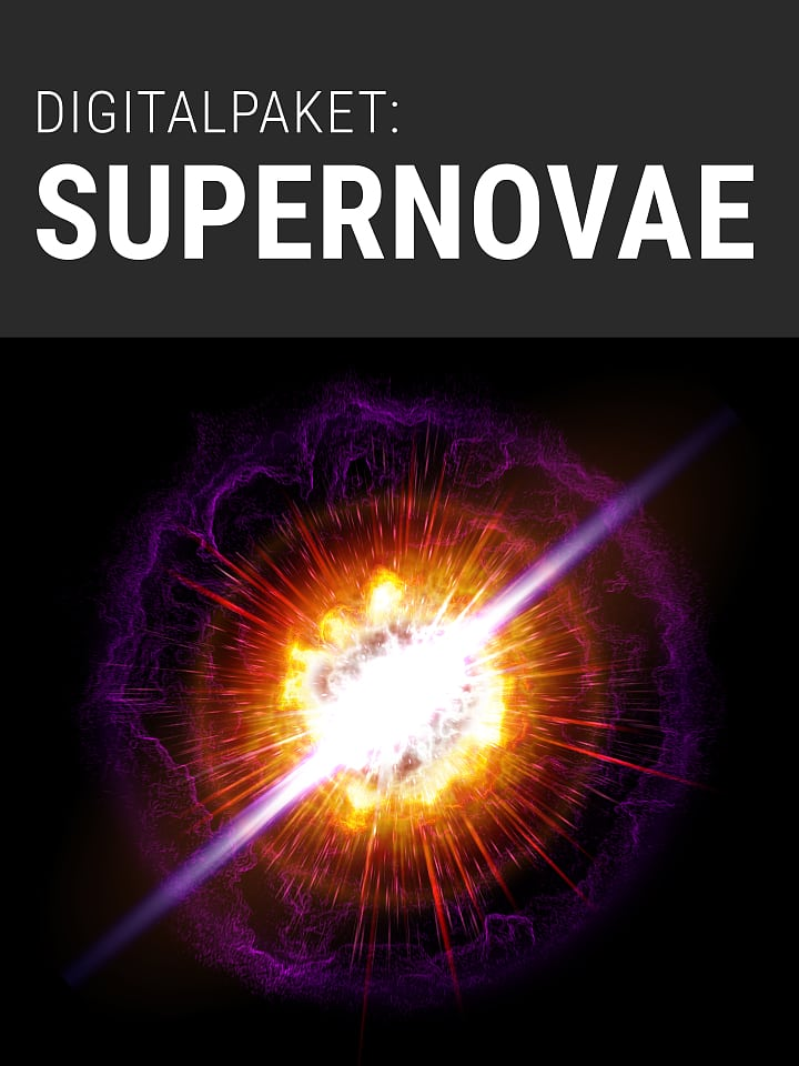 Heftcover Spektrum.de Digitalpaket: Supernovae