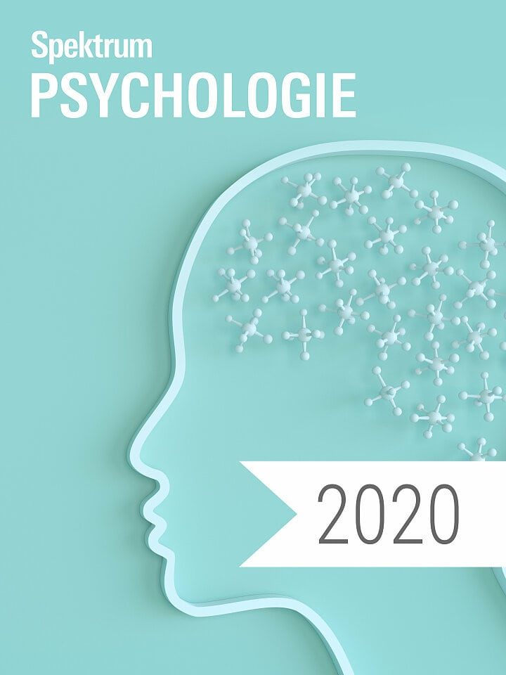Digitalpaket: Spektrum Psychologie Jahrgang 2020