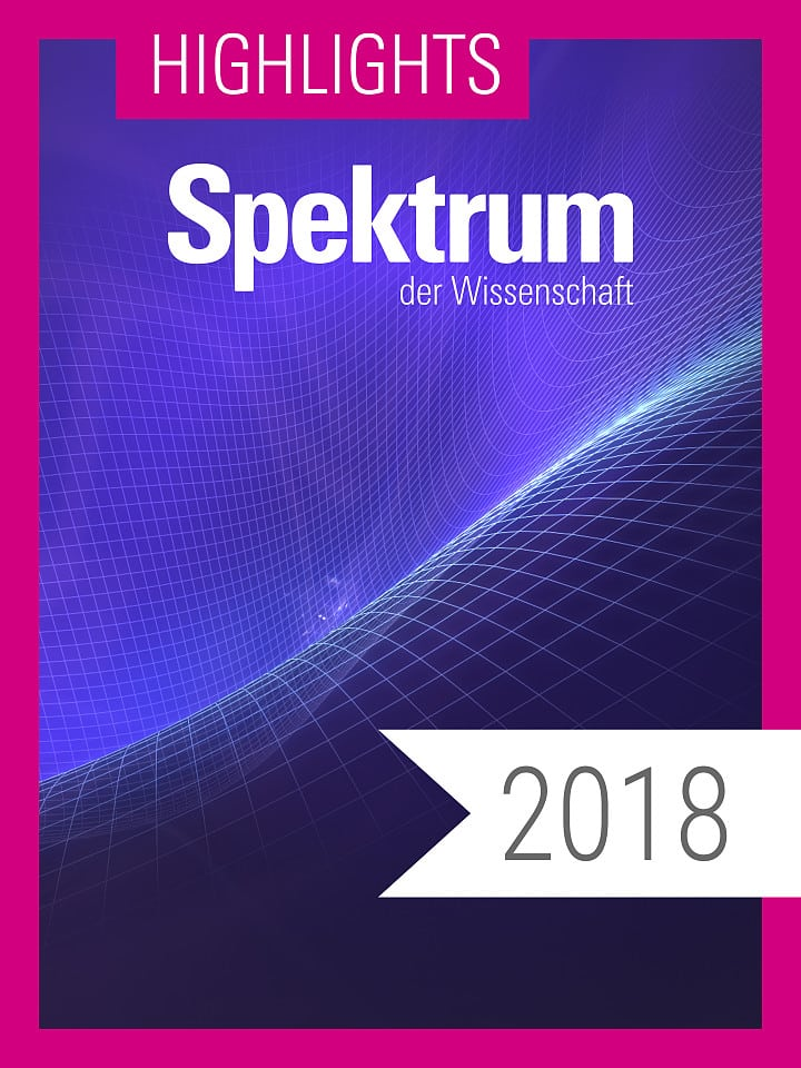 Digitalpaket: Spektrum Highlights Jahrgang 2018