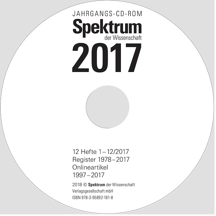 Spektrum CD-ROM 2017