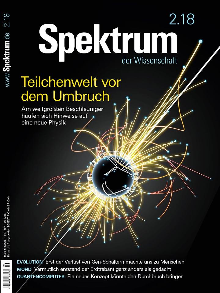 Spektrum-Titel Februar 2018: