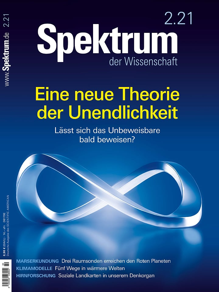 Copertina del manuale Spectrum of Science 2/2021
