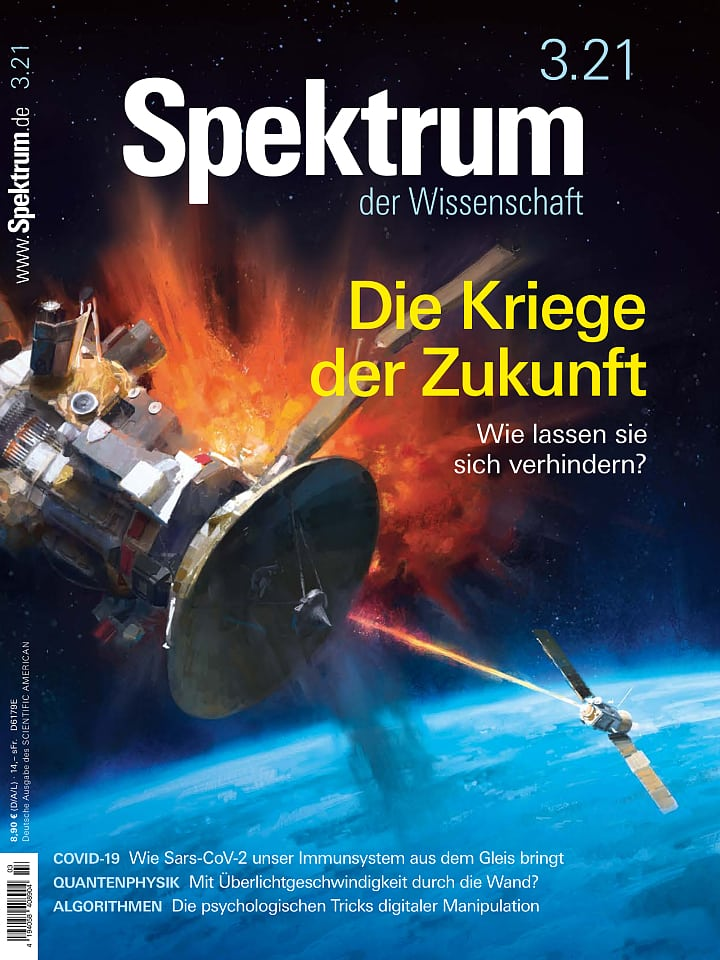 Copertina del manuale di Spectrum Science 3/2021