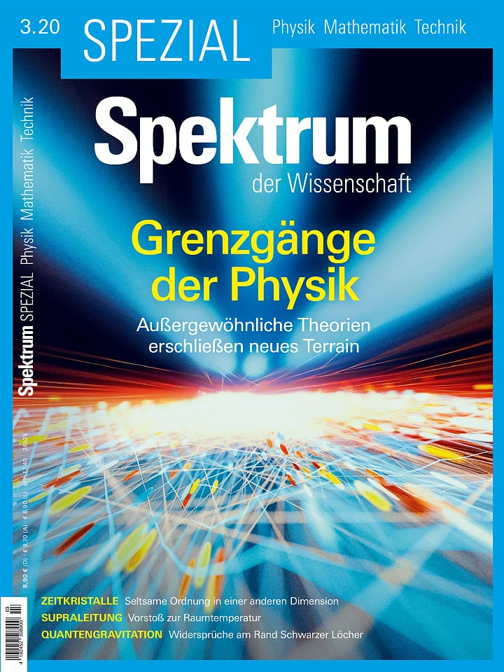 Spezial Physik - Mathematik - Technik 3/2020