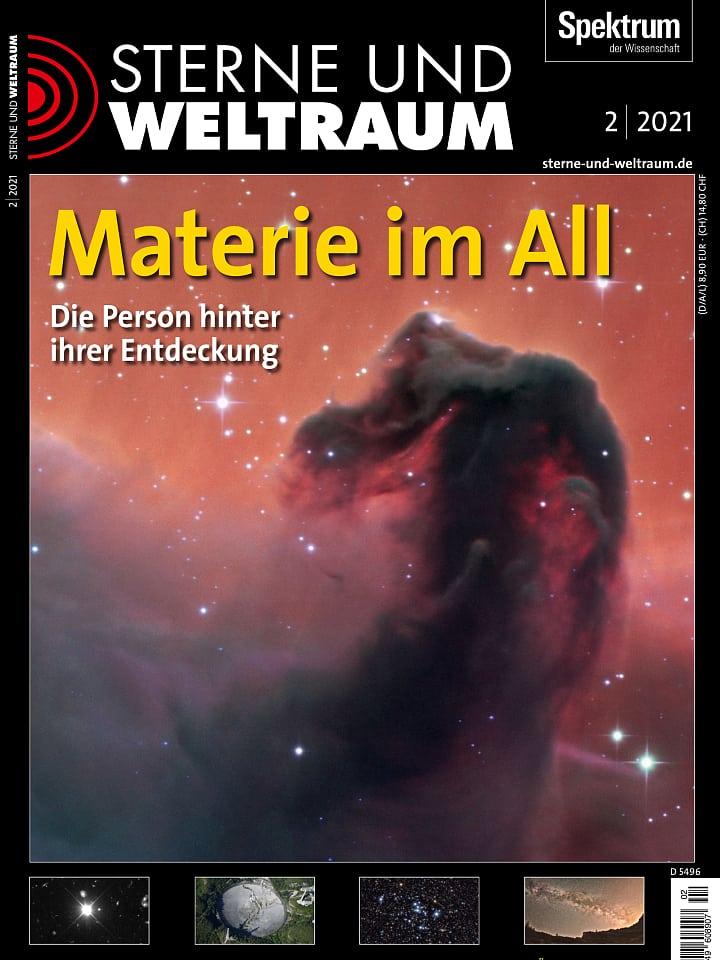 جلد بروشور Stars and Space 2/2021