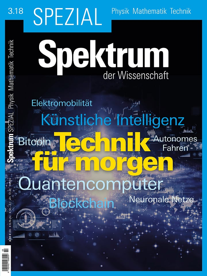 Spezial Physik - Mathematik - Technik 3/2018