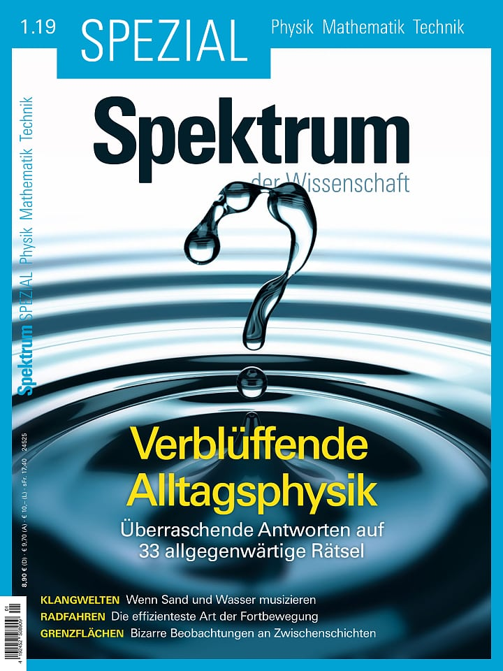 Spezial Physik - Mathematik - Technik 1/2019