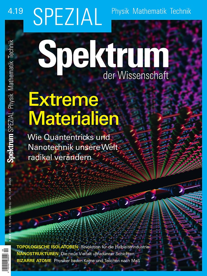 Spezial Physik - Mathematik - Technik 4/2019