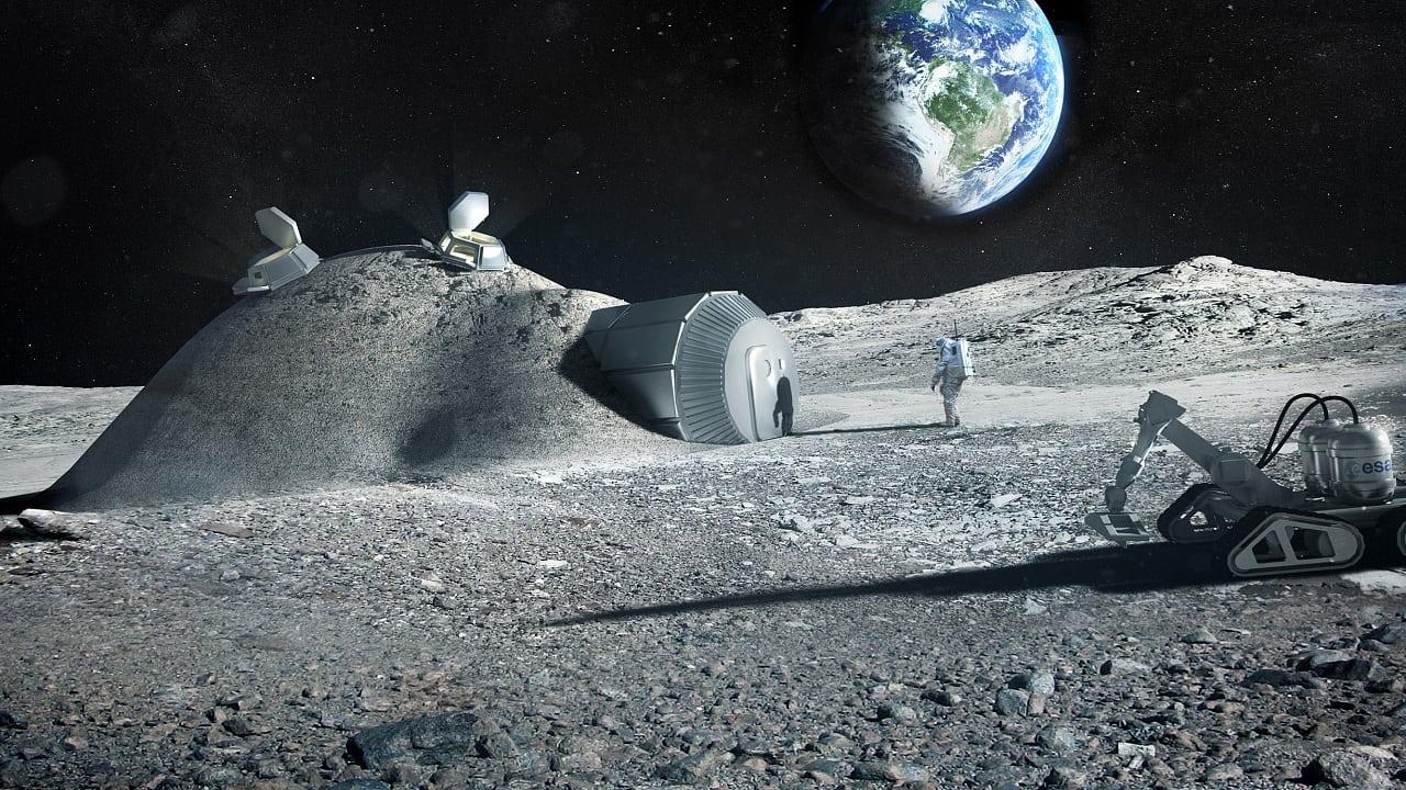 Raumfahrt: Ein Schloss aus Stein und Urin
