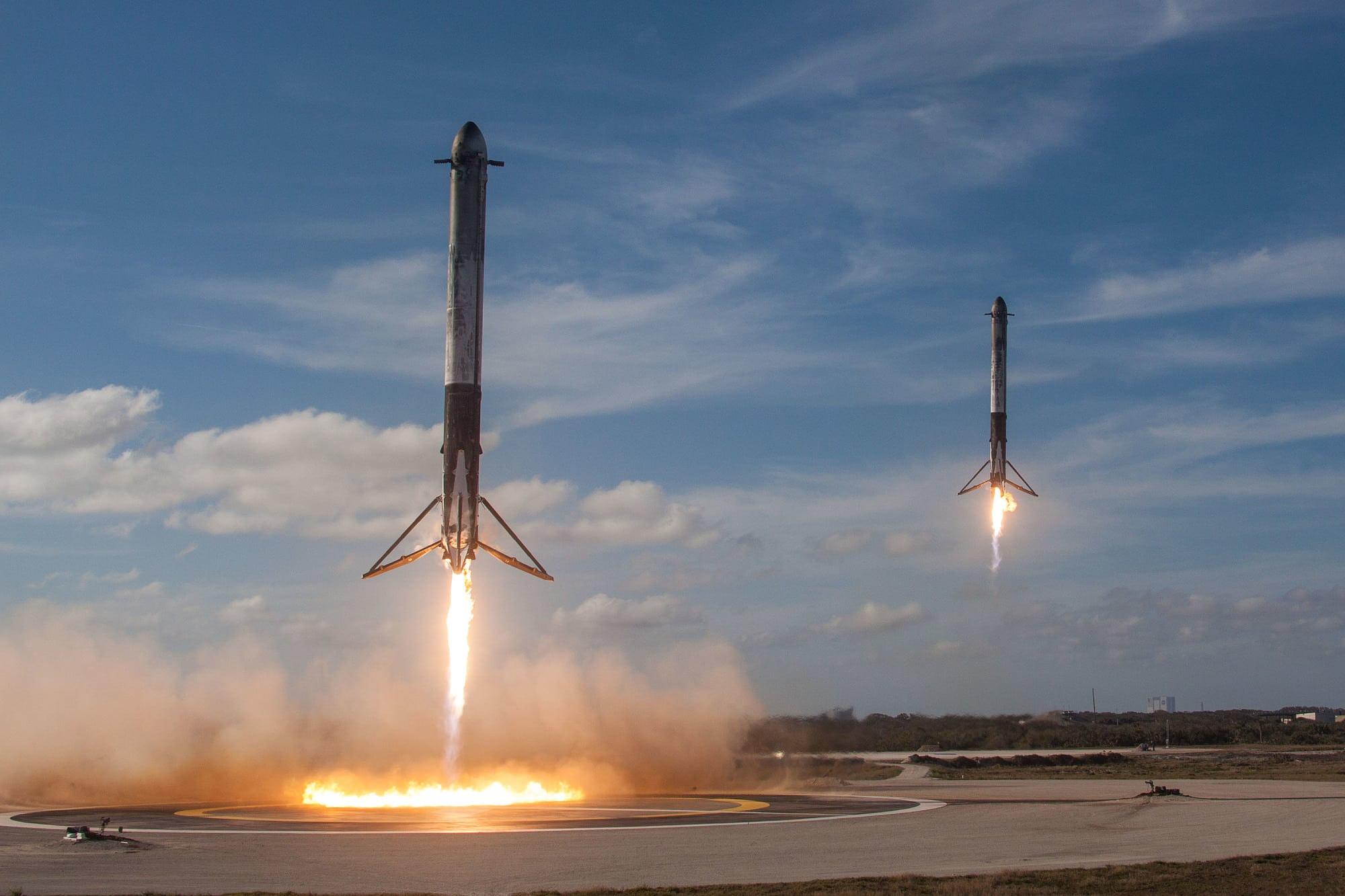 Landung SpaceX