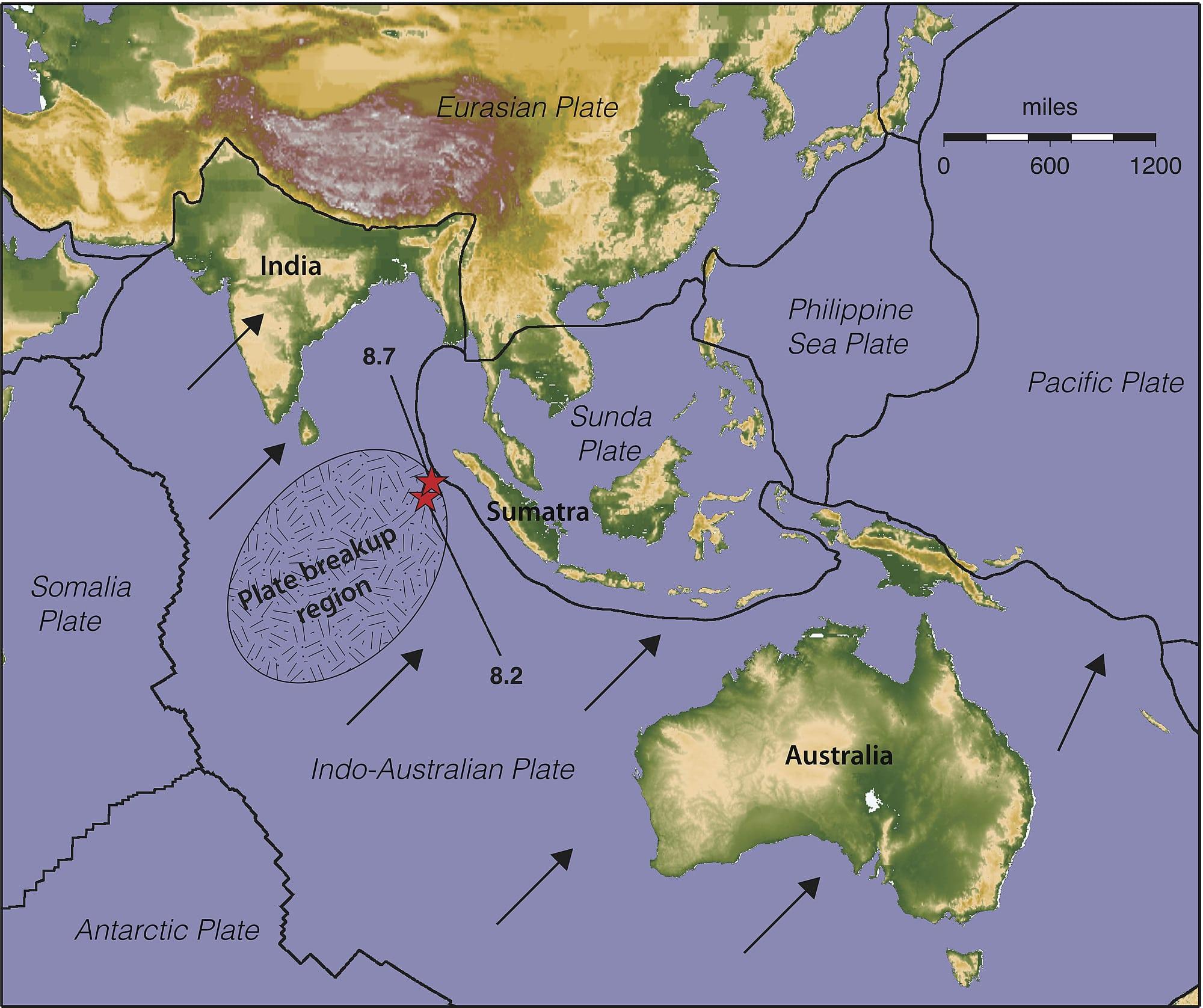 Geotektonik Eine Neue Erdplatte Entsteht Spektrum Der Wissenschaft