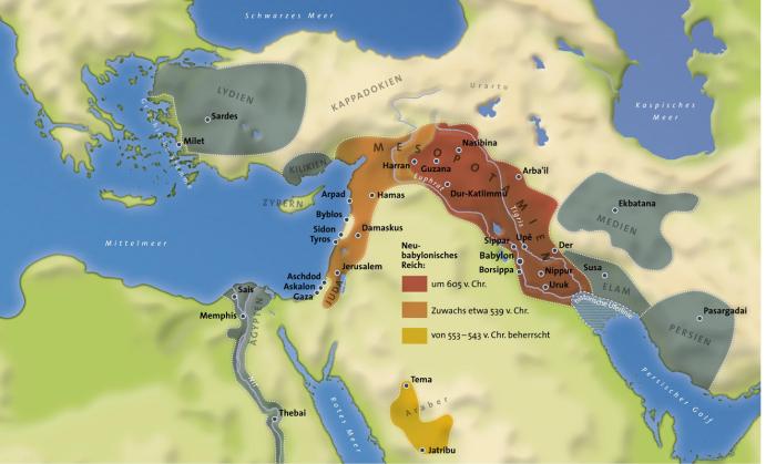Das babylonische Reich im 1. Jt. v. Chr.