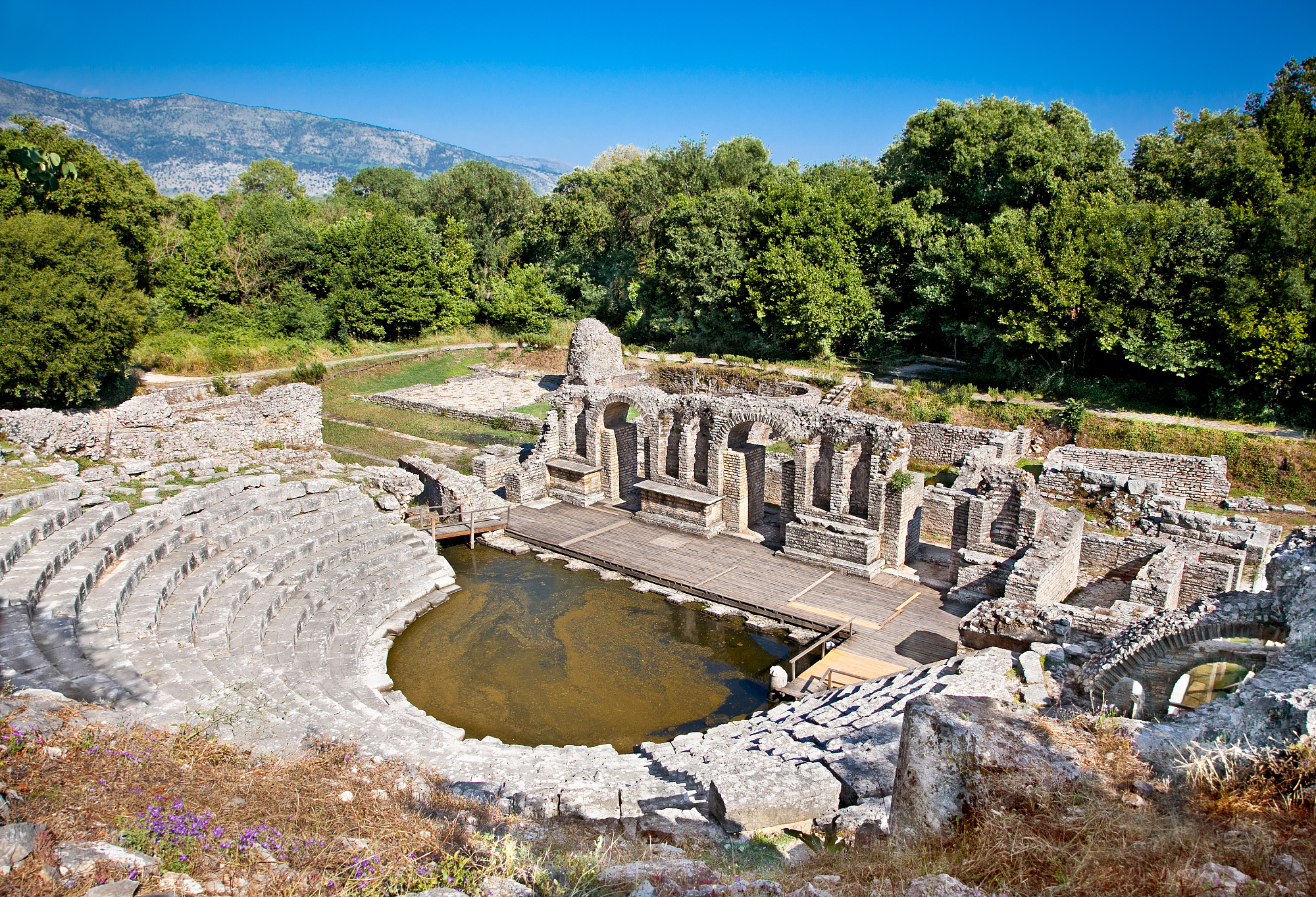 Amphitheater in Butrint