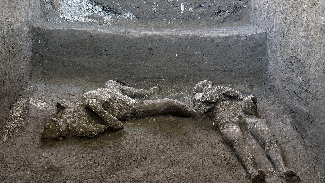 Bilder der Woche: Neue Tote in Pompeji