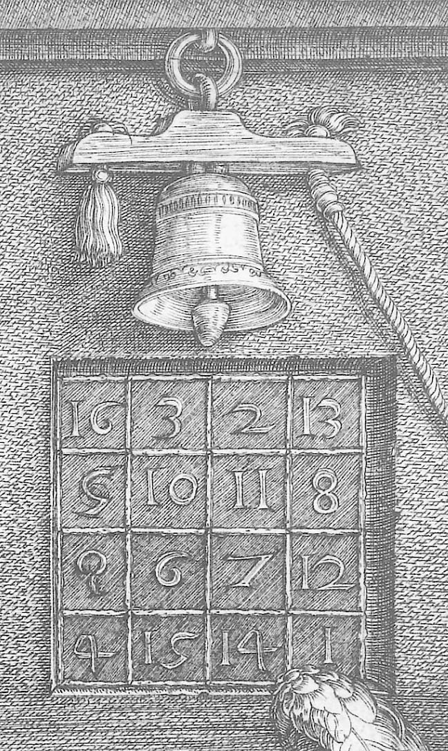 Magisches Quadrat 4x4 - Treitz-Rätsel für Mathematik und Physik ...