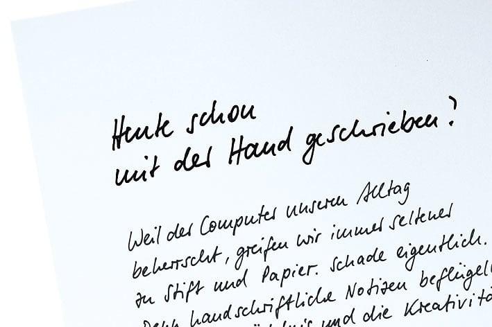 Wie Lernt Man Am Besten Handschrift Spektrum Der Wissenschaft