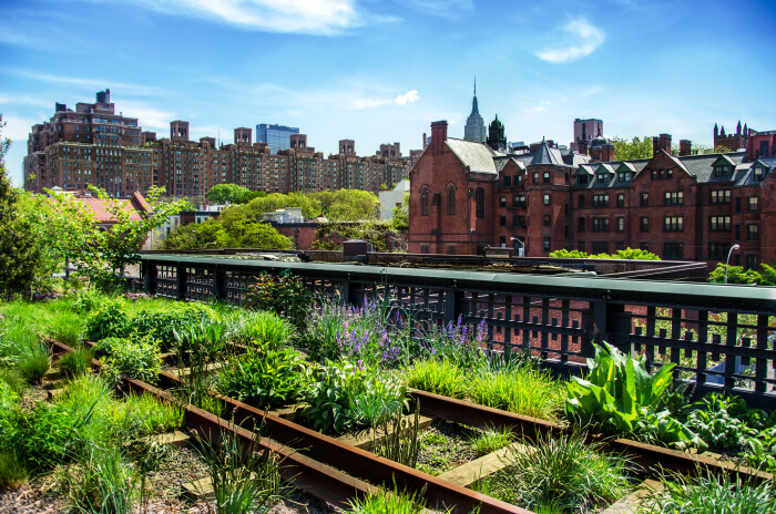 Highline-Park in New York City
