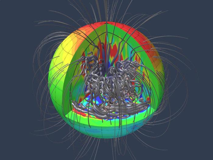 Magnetfeld Der Erde Wallpaper Magnetfeld Von Jupiter