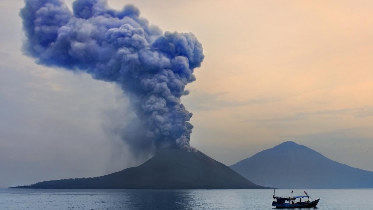 Anak Krakatau: Vulkanausbruch löste 150 Meter hohe Tsunamis aus