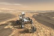 Ambitionierte Marspläne: Hubschrauber für den Roten Planeten