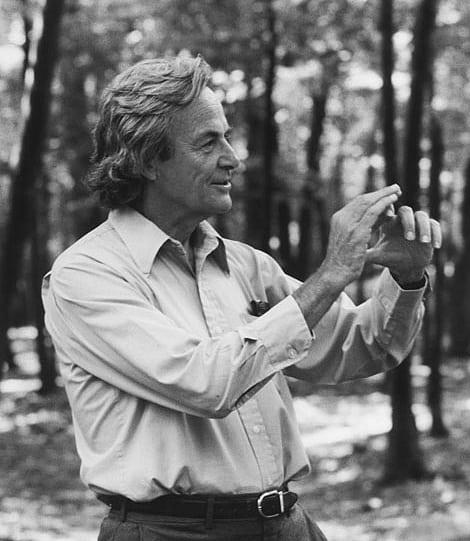 Richard Feynman in 1984