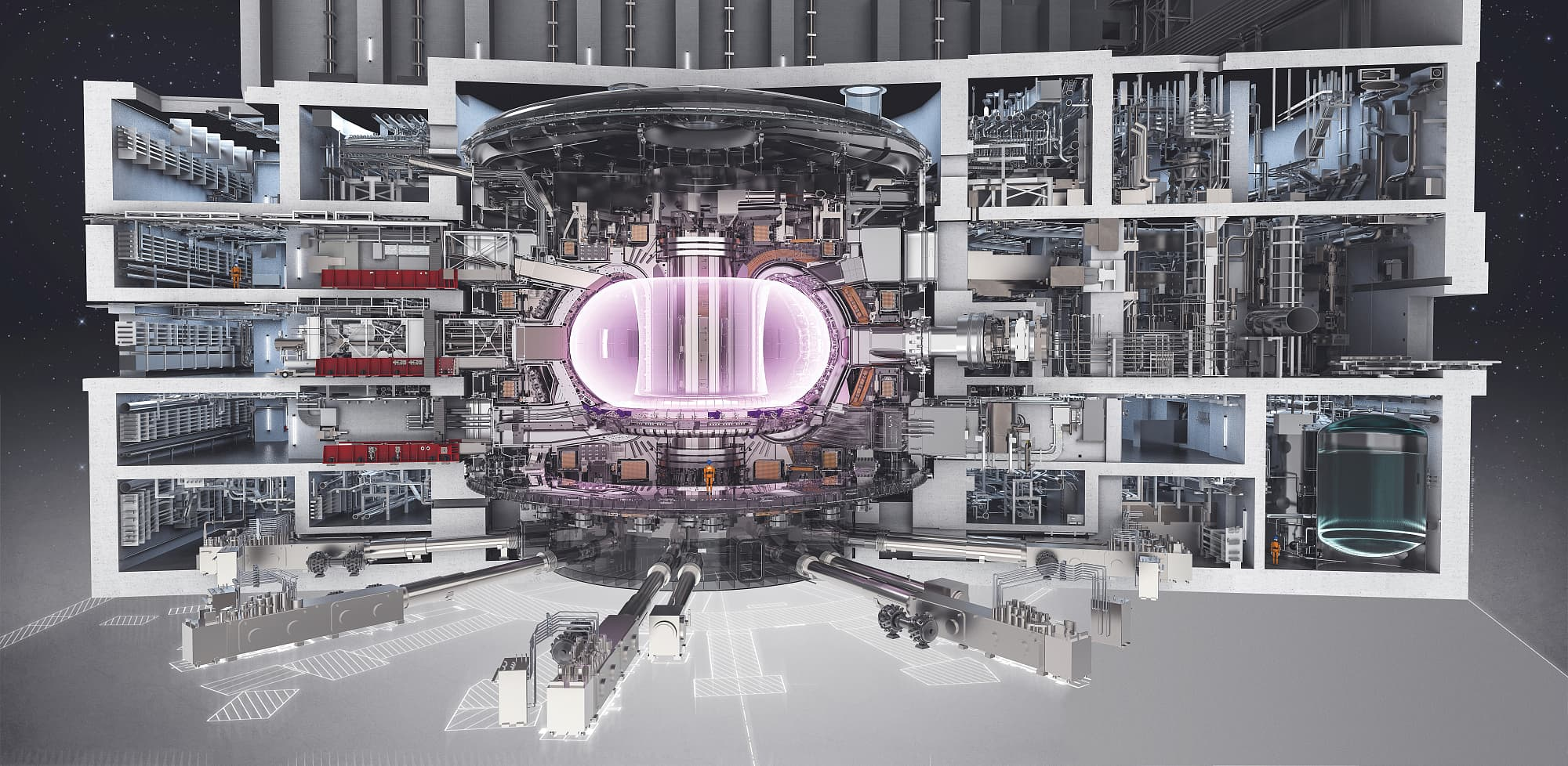 Kernfusionsreaktor Iter