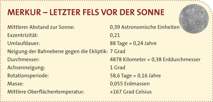 der planet merkur steckbrief