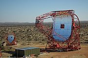 H.E.S.S.-Teleskop (High Energy Stereoscopic System) in Namibia
