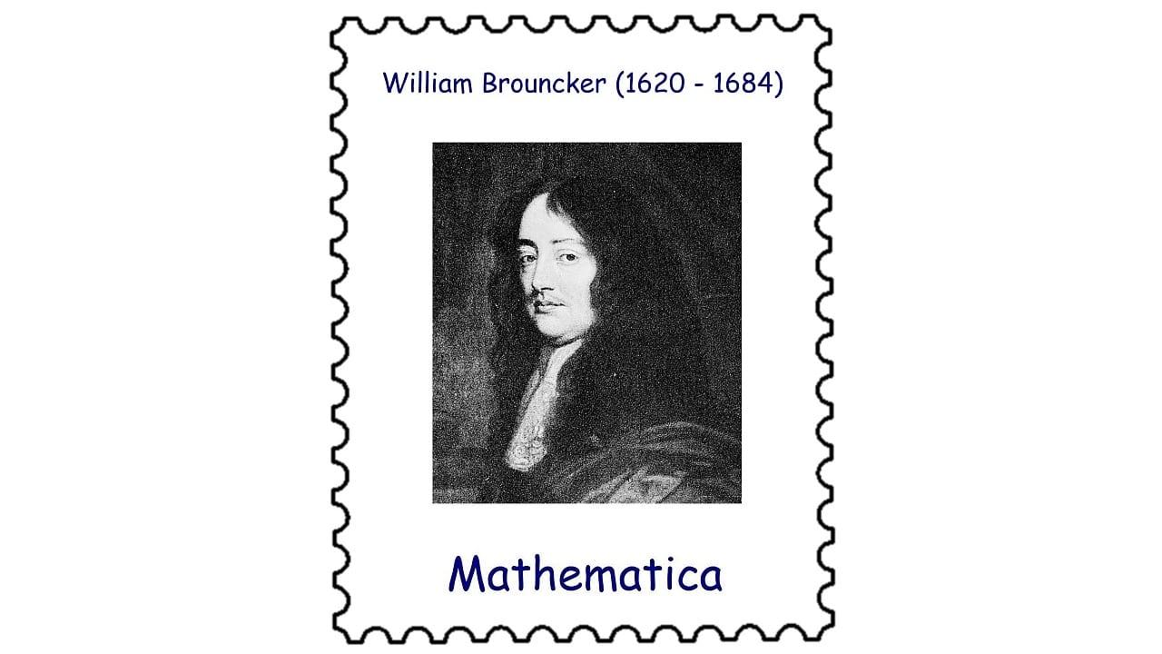 Der mathematische Monatskalender: William Brouncker (1620–1684): Von Musiktheorie zu Kettenbrüchen