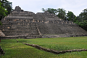 Caana Pyramide in Caracol, Belize