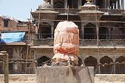 Abgedeckte Vishnu-Stele