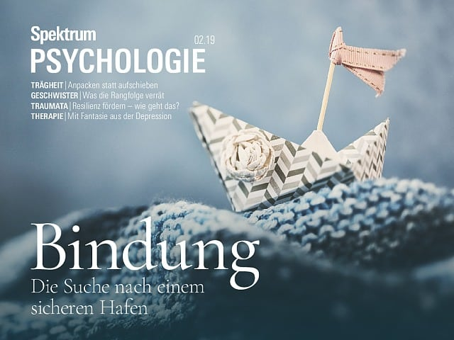 Spektrum Psychologie:  2/2019 (März/April)