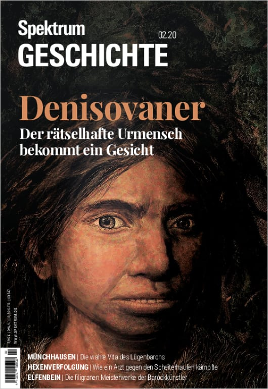 Cover 2/2020 Denisovaner