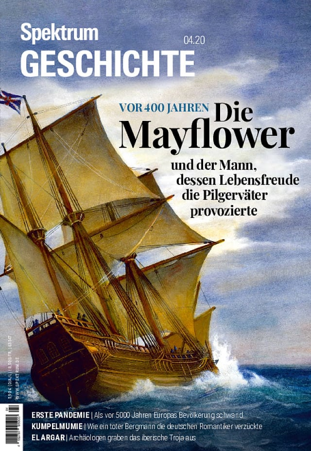 4/2020 (September/Oktober) Mayflower