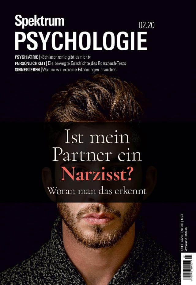 Spektrum Psychologie:  2/2020 (März/April)