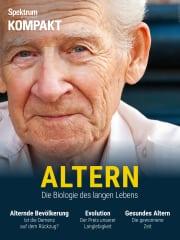 Cover Spektrum Kompakt:  Altern – Die Biologie des langen Lebens
