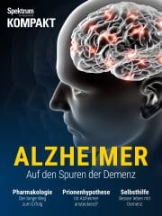 Cover Spektrum Kompakt: Alzheimer – Auf den Spuren der Demenz